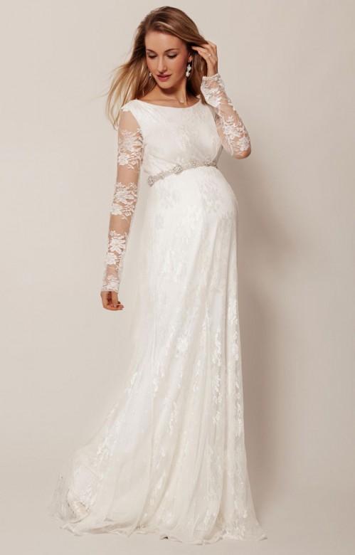 Tiffany Rose Helena svadobné šaty pre tehotné dlhé d1400724059