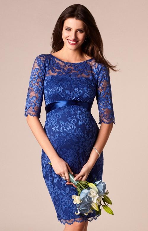 a1b90c8e9a23 Tiffany Rose Windsor blue spoločenské šaty pre tehotné
