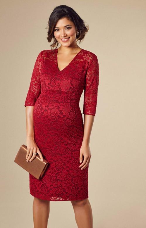 9be76127cd4e Tiffany Rose Suzie krátke spoločenské šaty červené