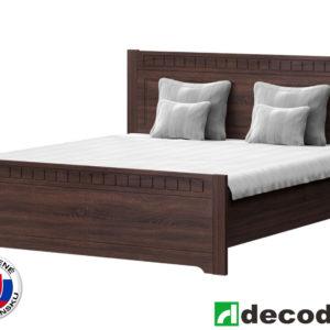 edfa4ca808c03 Manželská posteľ 180 cm Decodom Lirot Typ P-180 (dub pílený schoko)