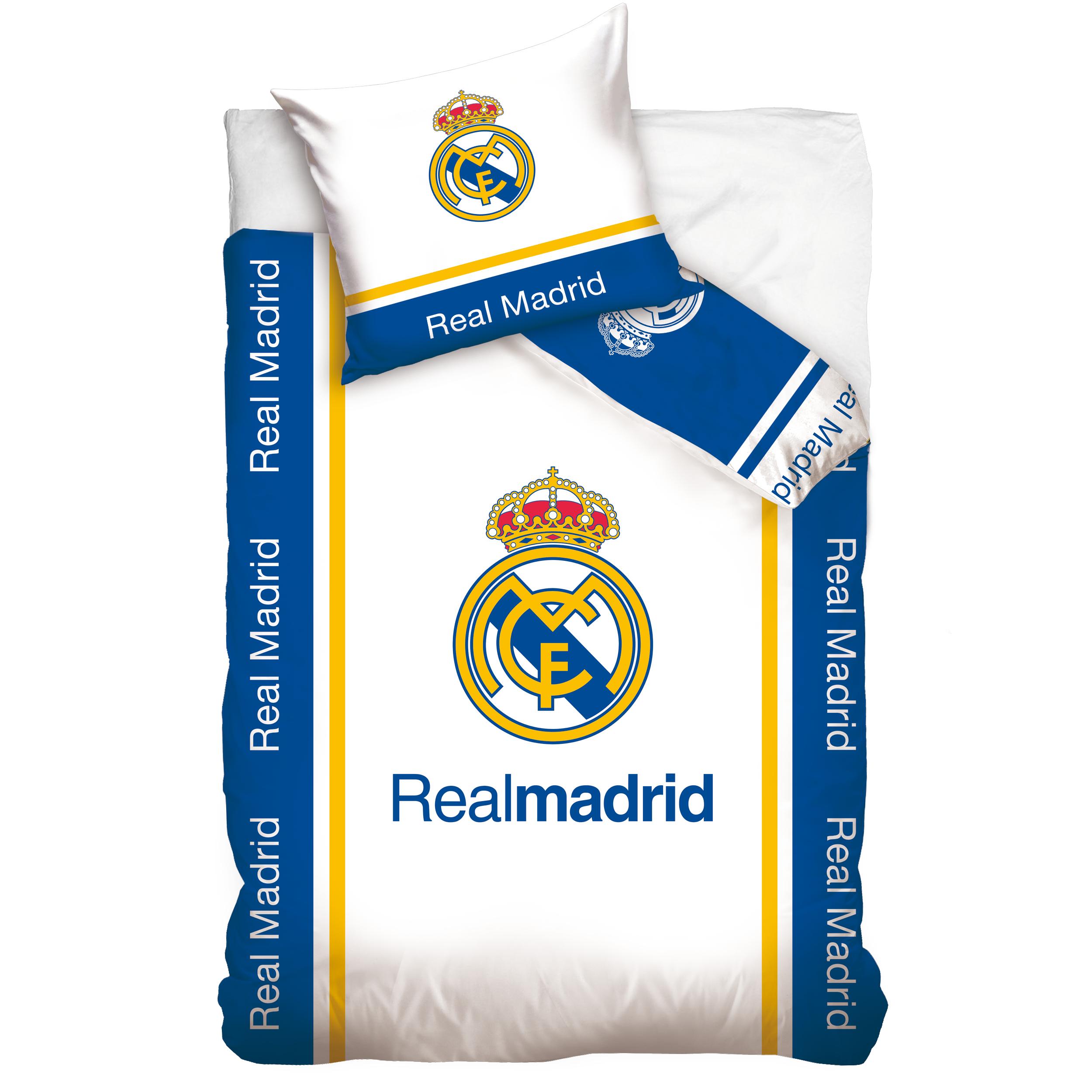 c1a1d62a8b3ae Carbotex obliečky Real Madrid bavlna 140x200 70x80 cm - FEMWEB.SK