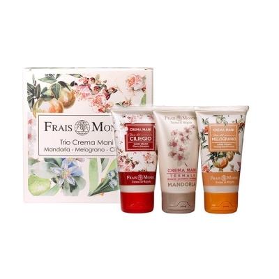 789dfe3d02 Frais Monde Cherry Blossoms 150 ml darčeková kazeta darčeková sada pre ženy  krém na ruky Cherry Blossoms 50 ml + krém na ruky Pomegranate Flowers 50 ml  + ...