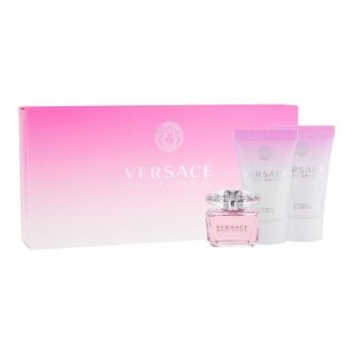 d38edf2aa Versace Bright Crystal 5 ml darčeková kazeta darčeková sada pre ženy  toaletná voda 5 ml + 25 ml telové mlieko + 25ml sprchovací gél